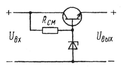 Стабилизатор на 3 вольта на транзисторе схема