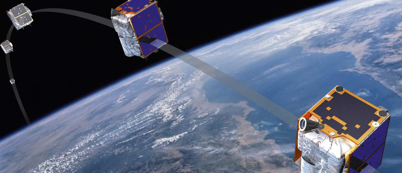 Тросовая система спутников