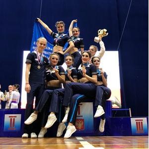 Студенты Самарского университета дважды поднимались на пьедестал Кубка России по фитнес-аэробике