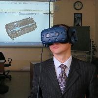 На кафедре КиПДЛА проведена демонстрация использования VR-шлема в учебном процессе