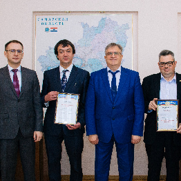 Артуру Сафину торжественно вручили свидетельство на грант Президента