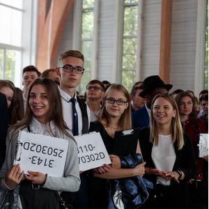 Более двух с половиной тысяч первокурсников произнесли клятву студента