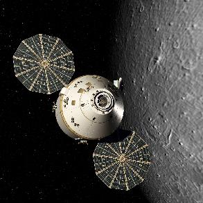 Как управлять космическим аппаратом на орбите Луны