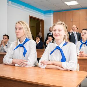 """Первый в Самаре """"Газпром-класс"""" открылся в университете"""
