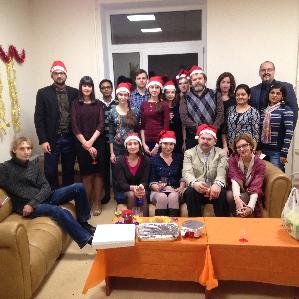 В СГАУ иностранные преподаватели и студенты отпраздновали Рождество