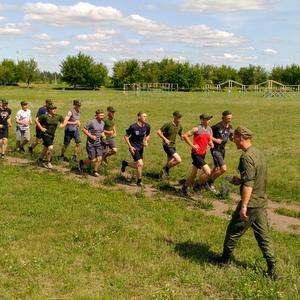 Курсанты военной кафедры отправились на сборы