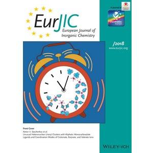 Статья ученых Самарского университета попала на обложку European Journal of Inorganic Chemistry