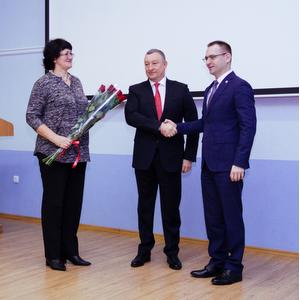 Александр Фетисов поздравил Владимира Богатырева с вступлением в должность