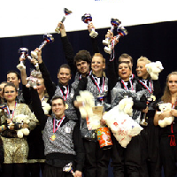 SSAU students - two-time winner of Hip-hop aerobics World Championship