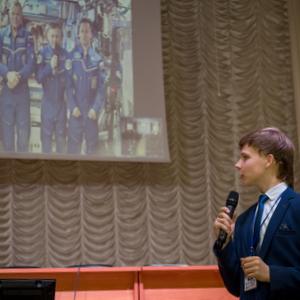 В Самарском университете состоялся телемост с МКС