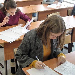 В университете состоялся областной тур Всероссийской олимпиады по немецкому  языку для школьников
