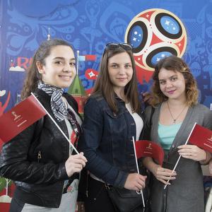 В Самаре дан  старт волонтерской программе Чемпионата мира по футболу FIFA 2018 в России™
