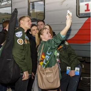Стройотряд СГАУ отправился на космодром Восточный