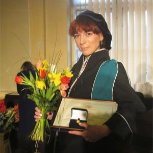 Ирина Беляева первой в СГАУ получила степень PhD