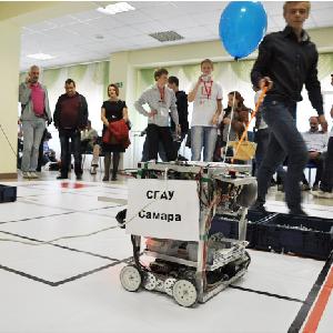 Роботы из СГАУ побывали на фестивале робототехники в Ростове-на-Дону