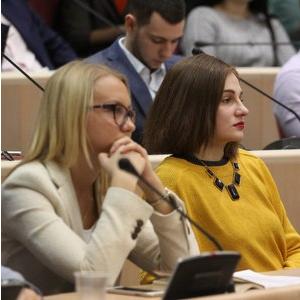Студенты Самарского университета работают в молодежном парламенте