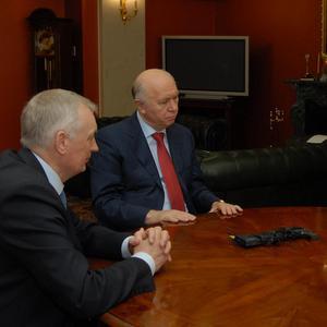 Николай Меркушкин,  Андрей Волков и Евгений Шахматов обсудили детали участия в программе