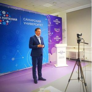 Дмитрий Гурулев выступил с онлайн-лекцией по вопросам безопасного банкинга
