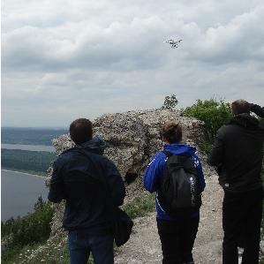 Квадрокоптер провёл экомониторинг в Жигулёвском заповеднике