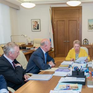 Губернатор и ректор Самарского университета встретились с министром образования и науки РФ