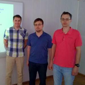 Евгений Александров и Артем Кабанов выступили на экспертной сессии в РХТУ им. Д.И. Менделеева