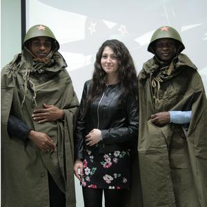 Иностранные слушатели довузовской подготовки СГАУ исполнили песни военных лет