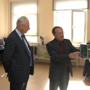 Зампредседателя Правления «УК «РОСНАНО» ознакомился с научными и производственными возможностями СГАУ