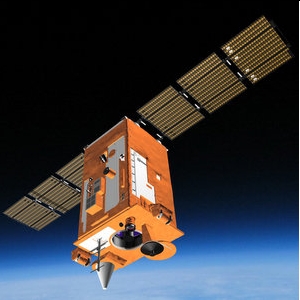 Роскосмос: Лунное затмение в объективе спутника «Аист-2Д»