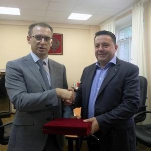Самарский университет посетил директор департамента кадровой и социальной политики Роскосмоса