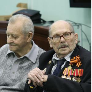Ректор СГАУ встретился с ветеранами