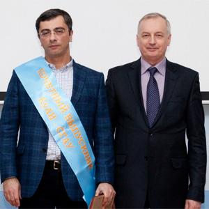 Владимир Гутенёв стал почётным выпускником КуАИ-СГАУ