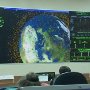 Орбитальная работа спутника