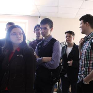 Лицеисты побывали на экскурсии в Поволжском центре космической геоинформатики