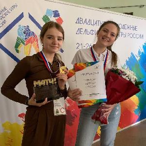 Будущие журналистки победили в XX Молодежных Дельфийских играх России