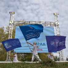 В Самаре посвятили в студенты 2400 первокурсников