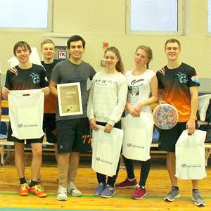 Сборная СГАУ – чемпион области по алтимат фрисби