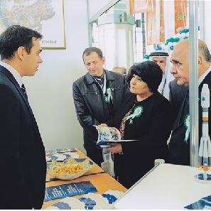 СГАУ принял участие в образовательной выставке в Республике Туркменистан