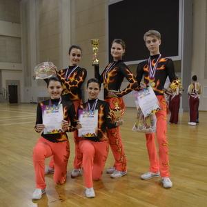 Команды СГАУ удачно выступили на областных соревнованиях по фитнес-аэробике