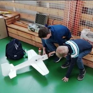 В университете состоялось открытое первенство вуза по авиамодельному спорту