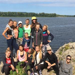Спортсмены университета готовились к сезону в лагере «Полёт»
