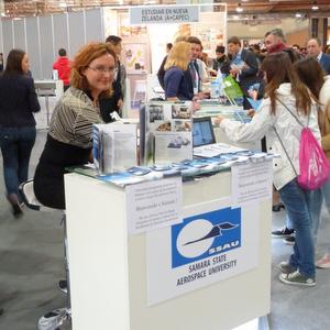 СГАУ представил свои образовательные программы на выставке AULA-2015