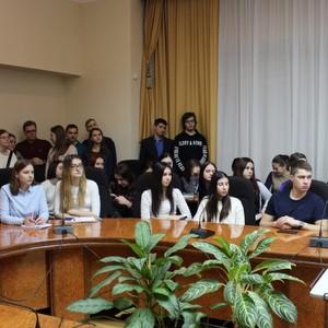 Председатель Совета по правам человека Михаил Федотов встретился со студентами университета