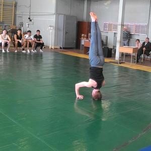 Завершилась спартакиада вуза по спортивной гимнастике