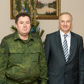 На военной кафедре проходит совещание 2-го командования  ВВС и ПВО Министерства обороны РФ