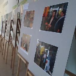 В Гомеле начала работу выставка, посвященная космосу и Самарскому университету