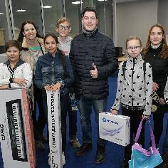 "Студент Валентин Канделаки подвел итоги акции ""БлагоДарю"""
