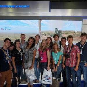 Студенты СГАУ побывали на МАКС-2015