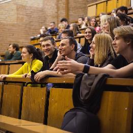Студенты познакомились с героями Самарского университета