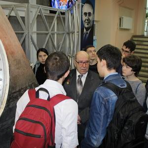 В СГАУ прошла встреча, посвященная 50-летию полета космического корабля «Восход-2»