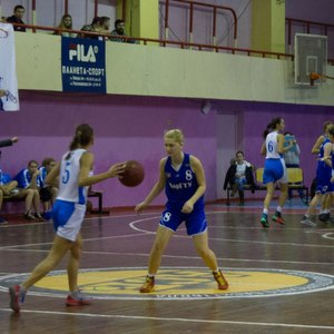 Баскетболистки Самарского университета обыграли команду из Йошкар-Олы